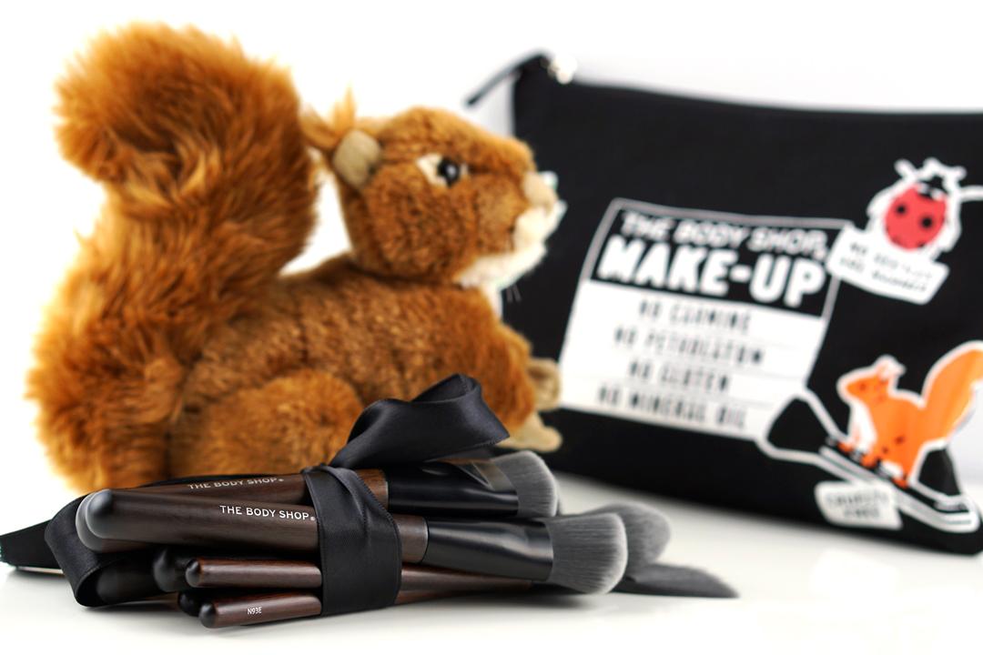 The Body Shop Cruelty-free make-up kwasten