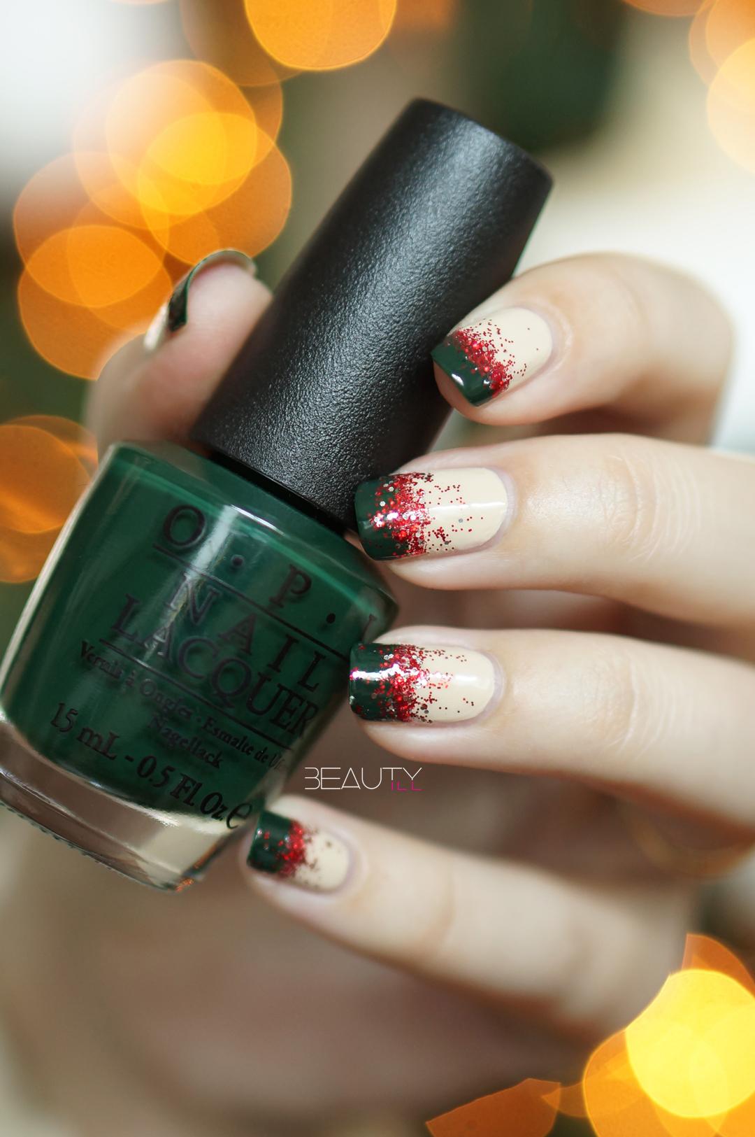 Overzicht kerstmis nail art