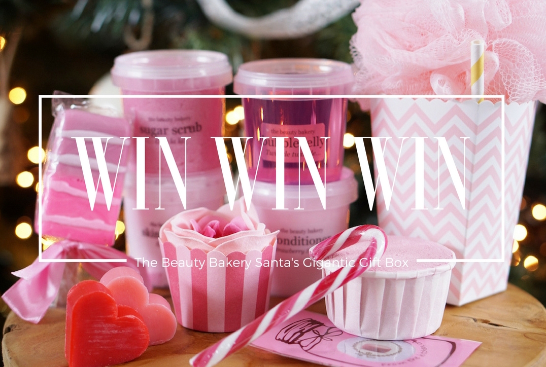 WIN The Beauty Bakery Santa's Gigantic Gift Box