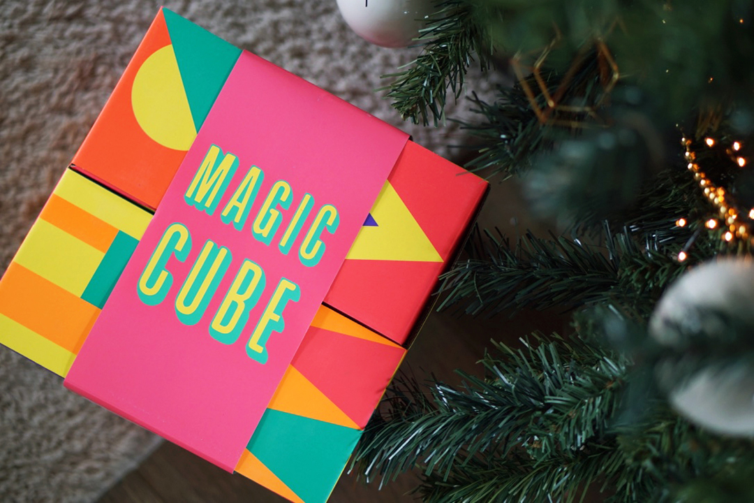 Lush Magic Cube unboxing