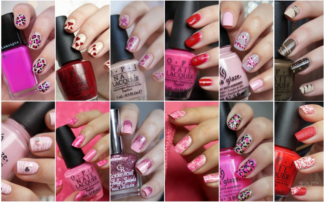 12x Valentines Day Nail Art