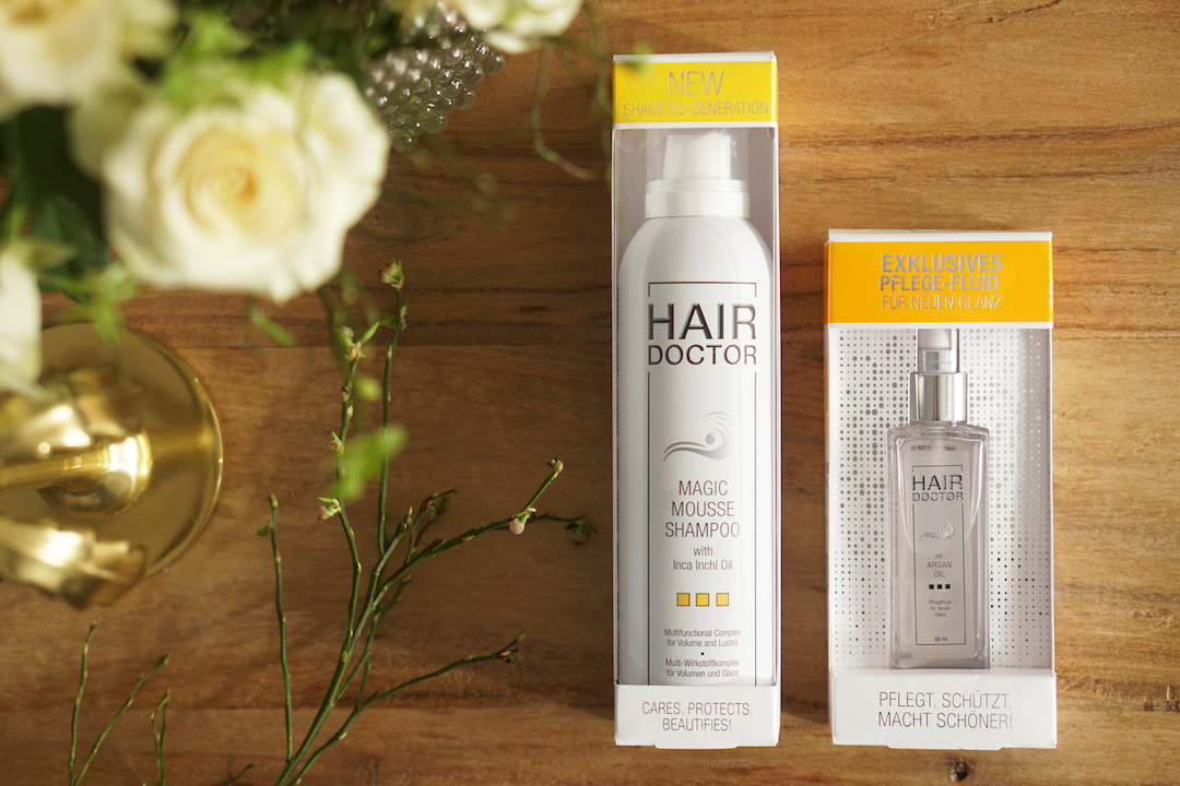 Hair Doctor Magic Mousse Shampoo en Argan Oil
