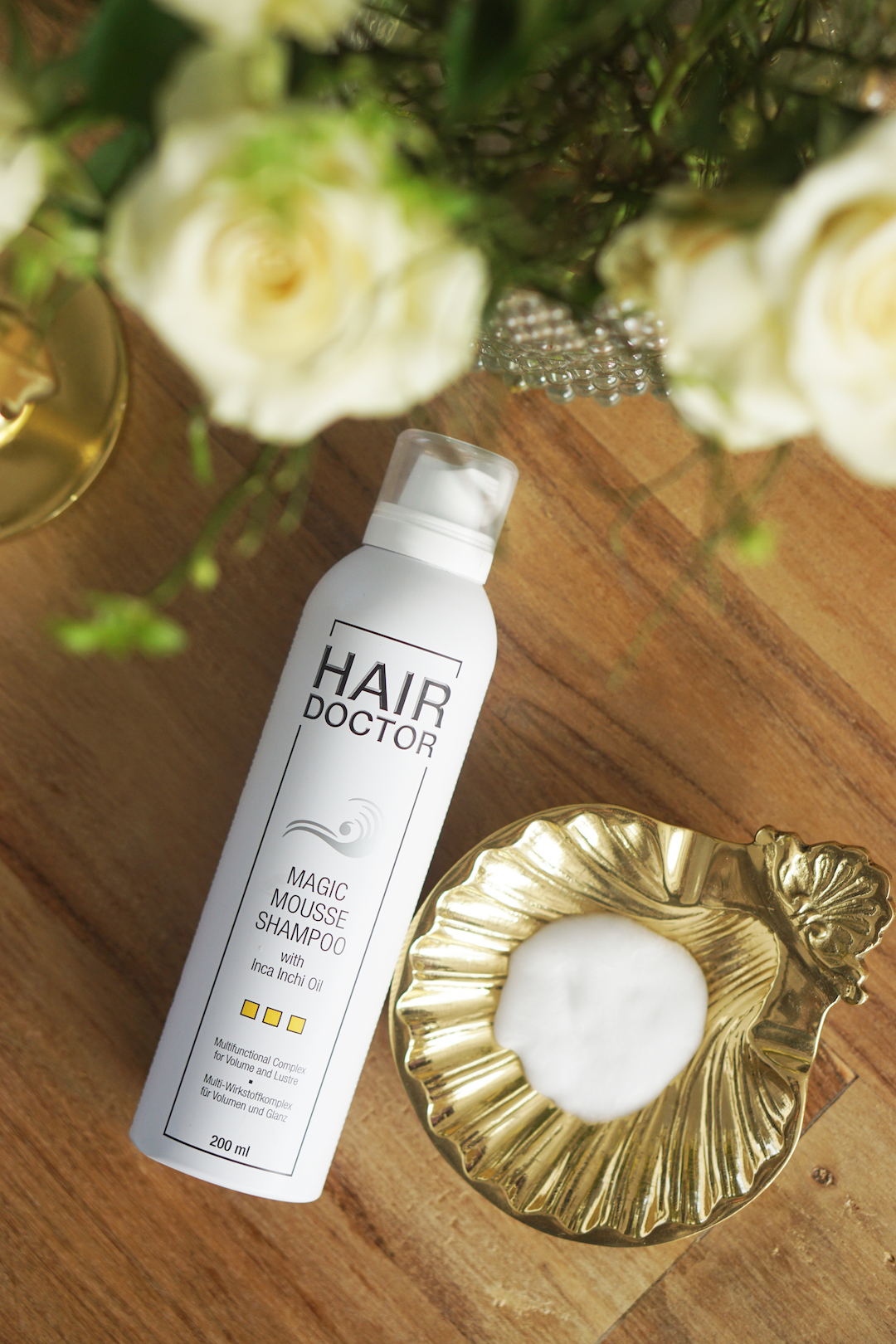 Hair Doctor Magic Mousse Shampoo en Argan Oil