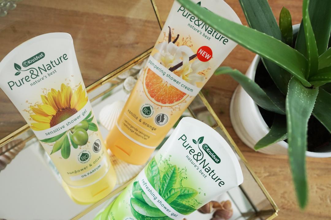 Kruidvat Pure & Nature Shower Gel / Cream