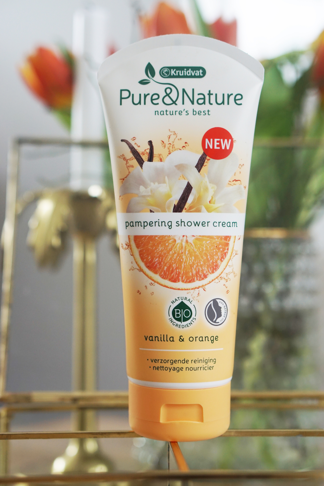 Kruidvat Pure & Nature Shower Gel / Cream
