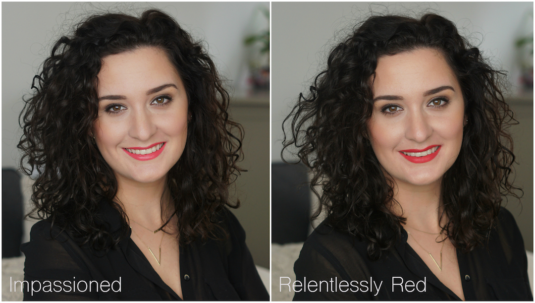 MAC Relentlessly Red vs Impassioned, dupe?