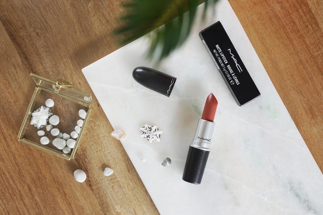 MAC Taupe, matte lipstick