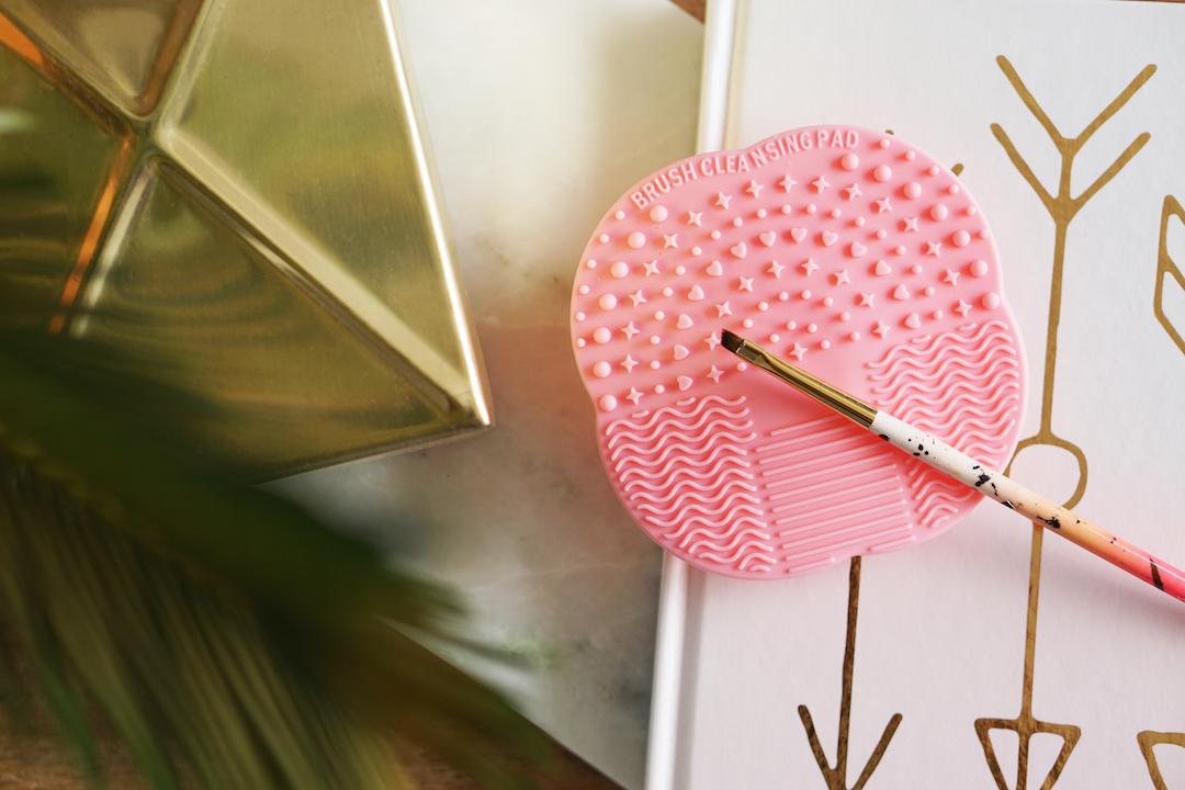 Brush cleansing pad, budget versie