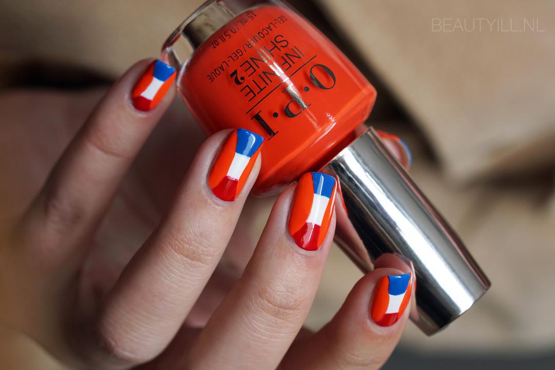 Nail art Koningsdag + liquid nail art tape sale!