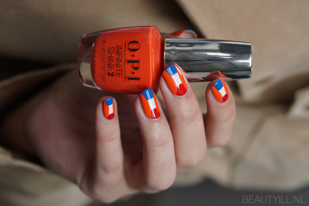 Nail art Koningsdag + liquid nail art tape sale!