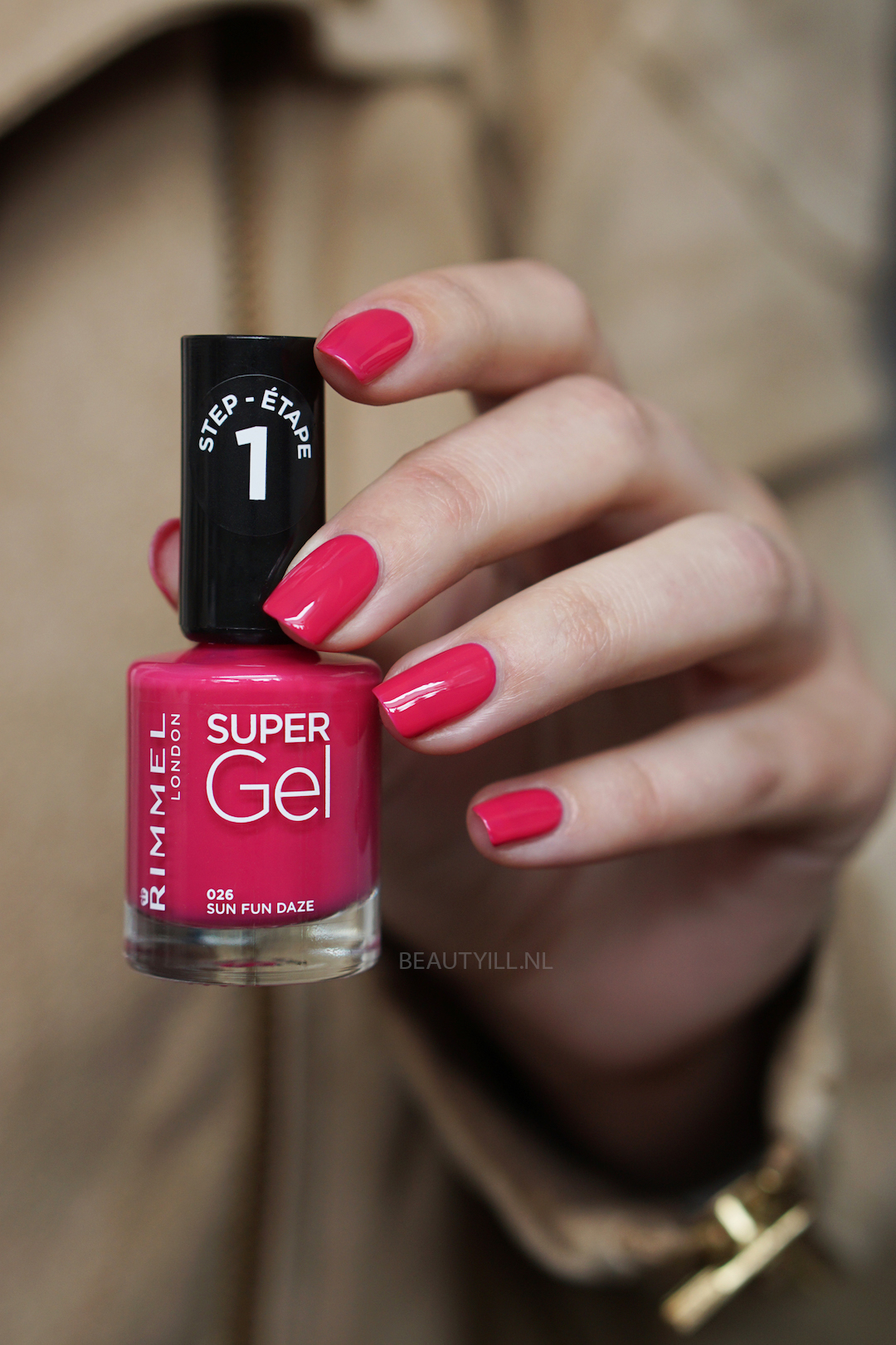 Rimmel Super Gel Spring Look swatches