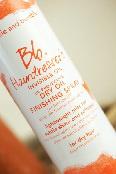 Bumble and bumble. Hairdresser's Invisible Oil Finishing Spray