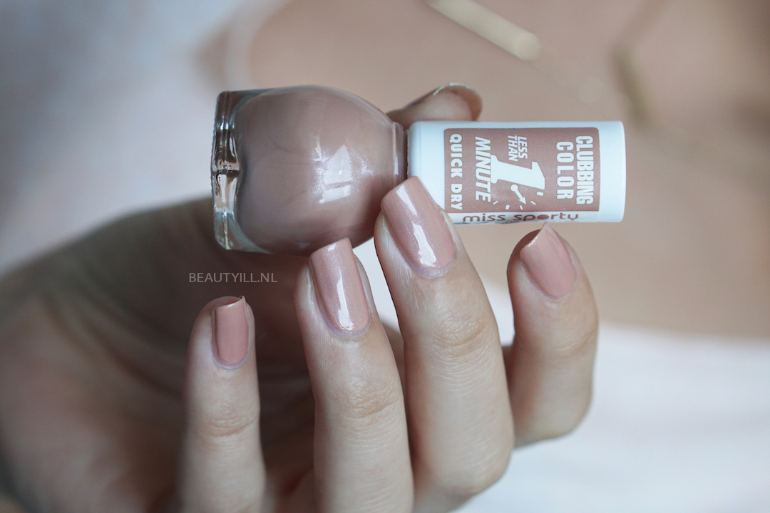 Miss Sporty Color Quick Dry nagellak swatches