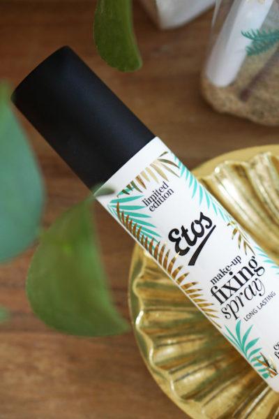 Etos limited edition kokos make-up fixing spray