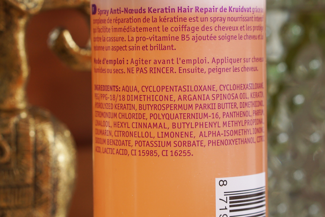 Kruidvat anti-klit spray, Keratin Hair Repair