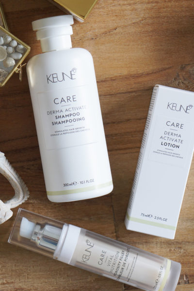 Keune Care, Derma Activate + Vital Nutrition