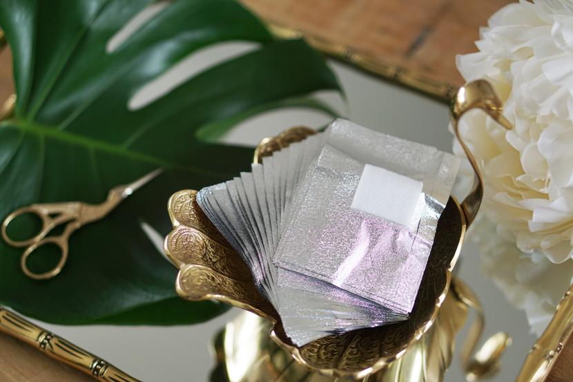 Action gel polish remover foil