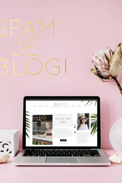 Spam je eigen blog en deel je favoriet