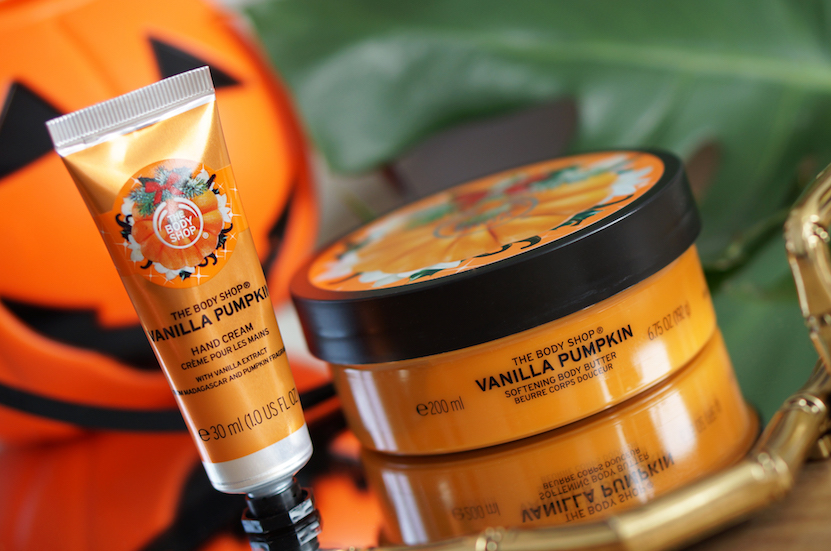 The Body Shop Special Edition Vanilla Pumpkin, Halloween