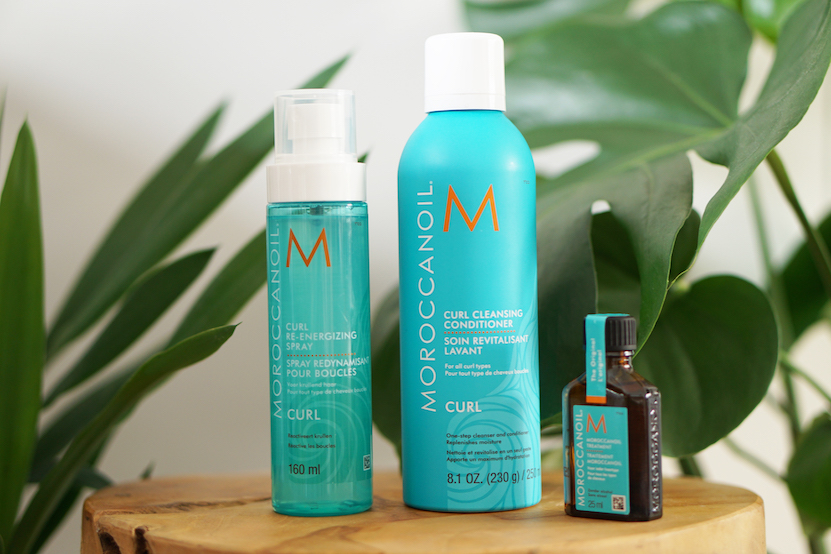 Moroccanoil Curl Re-Energizing Spray en Curl Cleansing Conditioner