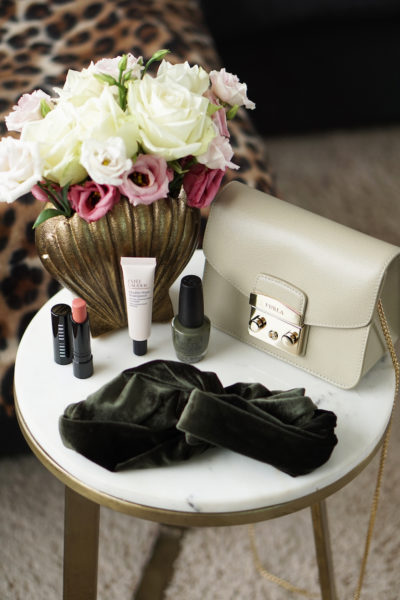 October favorites, Furla OPI Bobbi Brown Zara