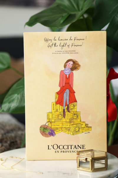 L'Occitane adventskalender unboxing
