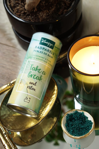 Kneipp badparels Pamper yourself, Take a break en Enjoy life