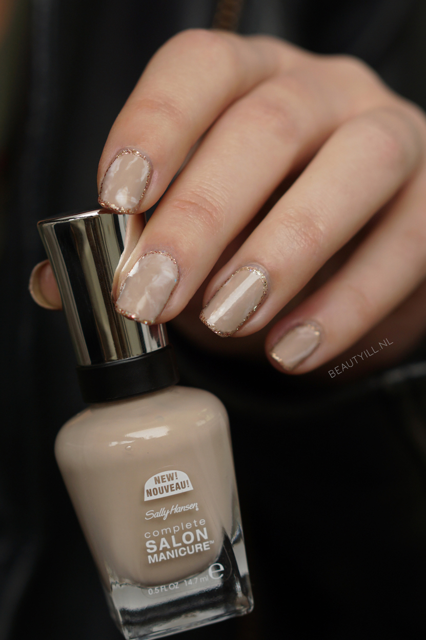 Outline Nude Stone Marble Nail Art Diy Beautyill