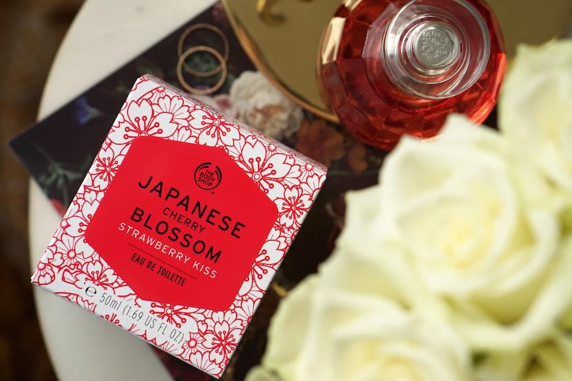 Japanese Cherry Blossom Strawberry Kiss eau de toilette review