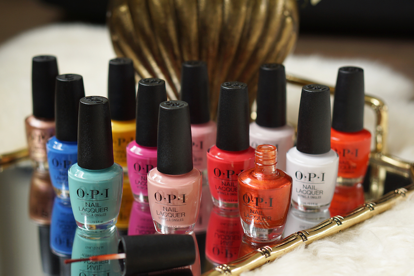 OPI Lisbon collection swatches