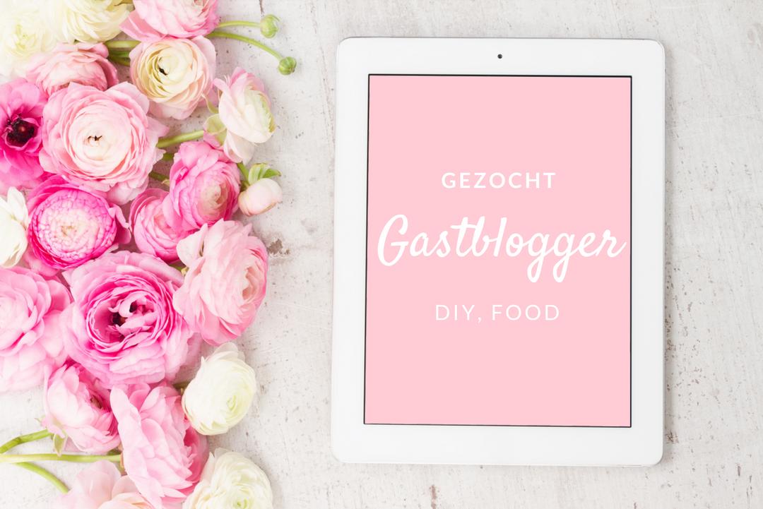 Gastblogger worden voor Beautyill, DIY of food?