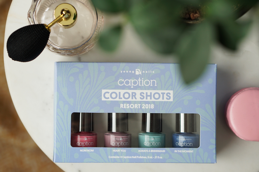 CAPTION Resort collection 2018 swatches