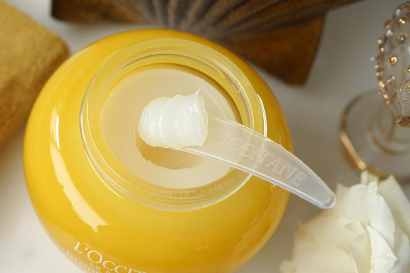 L'Occitane Immortelle Divine cleansing balm & cream-in-foam