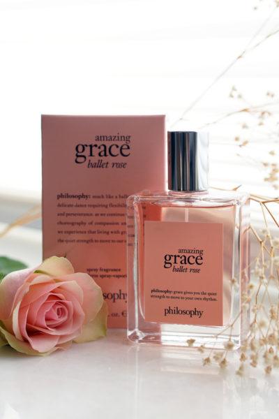 philosophy amazing grace ballet rose eau de toilette review