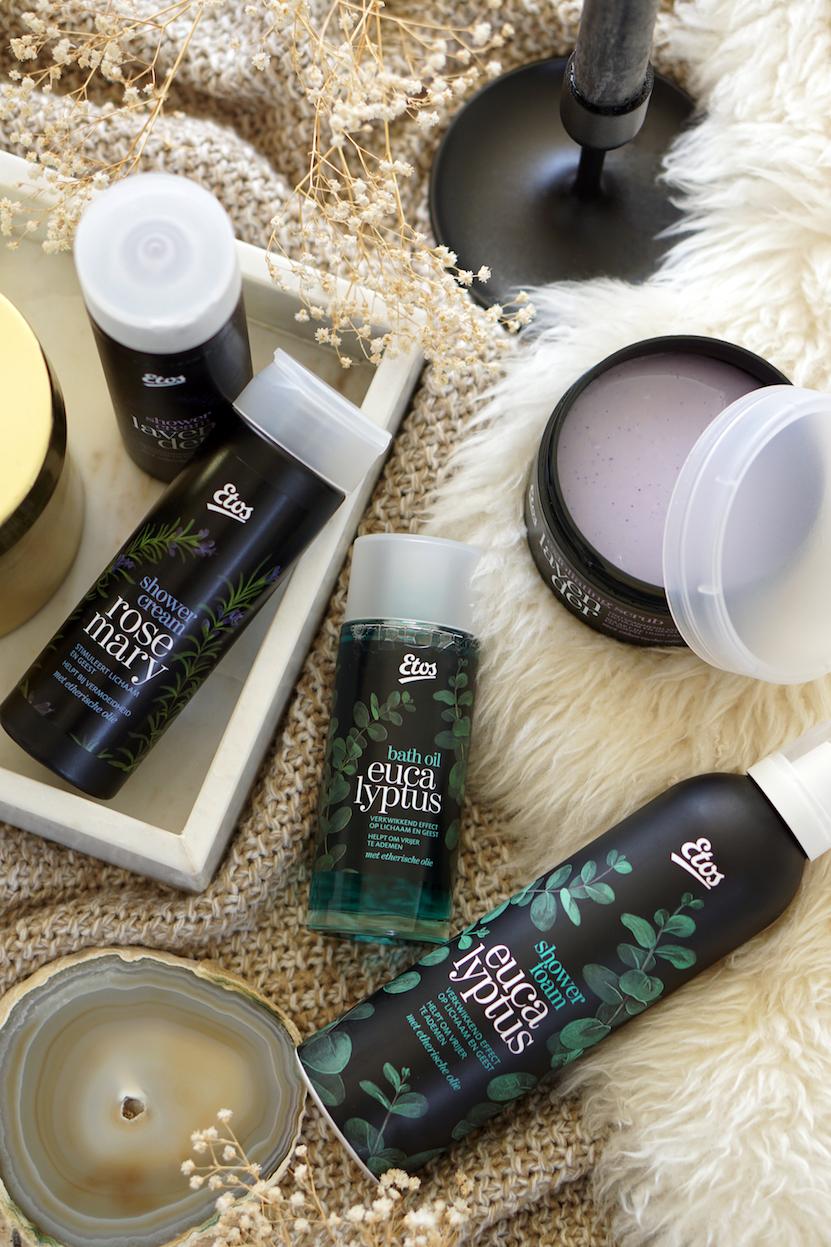 Etos Lavender, Eucalyptus en Rosemary review aromalijn