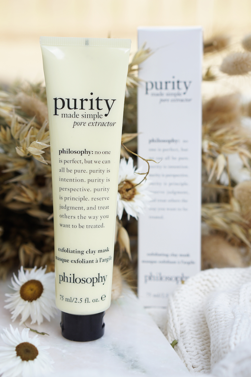 philosophy purity made simple: moisturizer, clay mask & micellar water