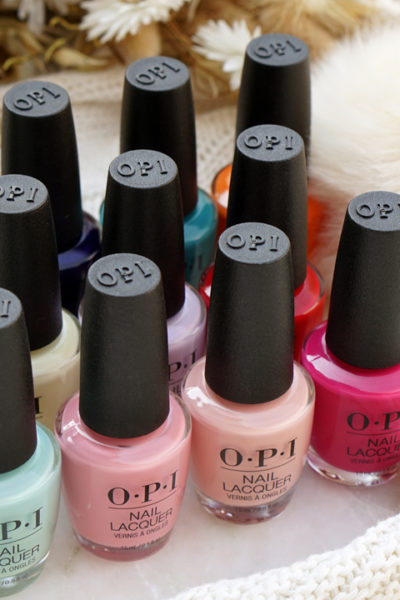 OPI Grease Collection swatches