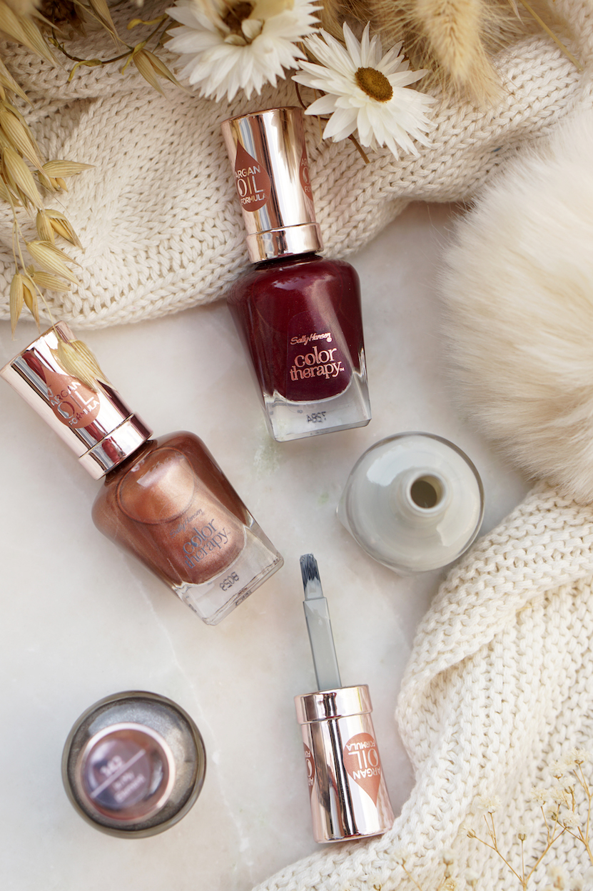 Sally Hansen Bohemian Chromes Collection Swatches