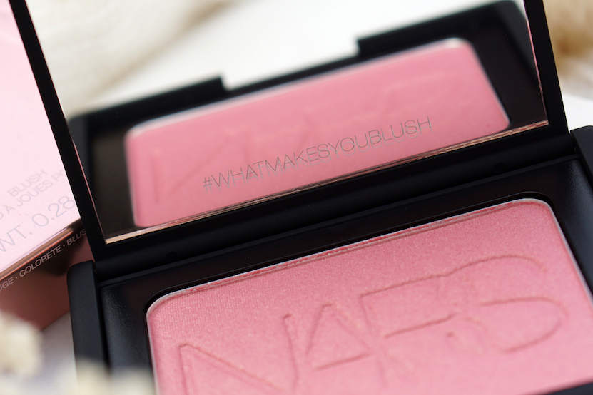 NARS Orgasm 2018 collection Lip balm, Blush & Illuminating Loose Powder