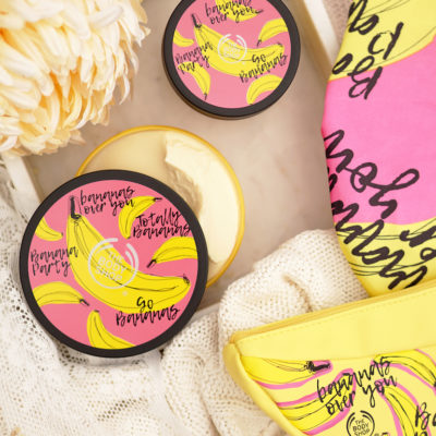 The Body Shop special edition banana body care review