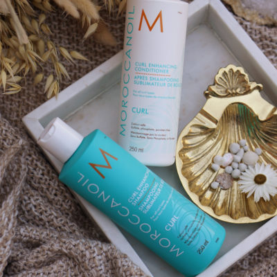 Moroccanoil Curl Enhancing Shampoo & Conditioner review