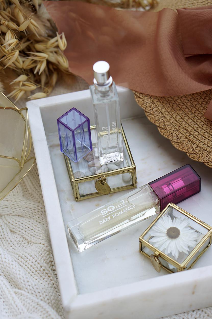So…? Fragrance eau de parfum: Floral Crush & Dark Romance
