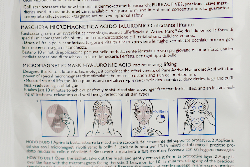 Collistar Micro-Magnetische sheet maskers