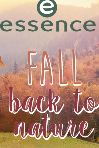 "essence trend edition ""fall back to nature"""