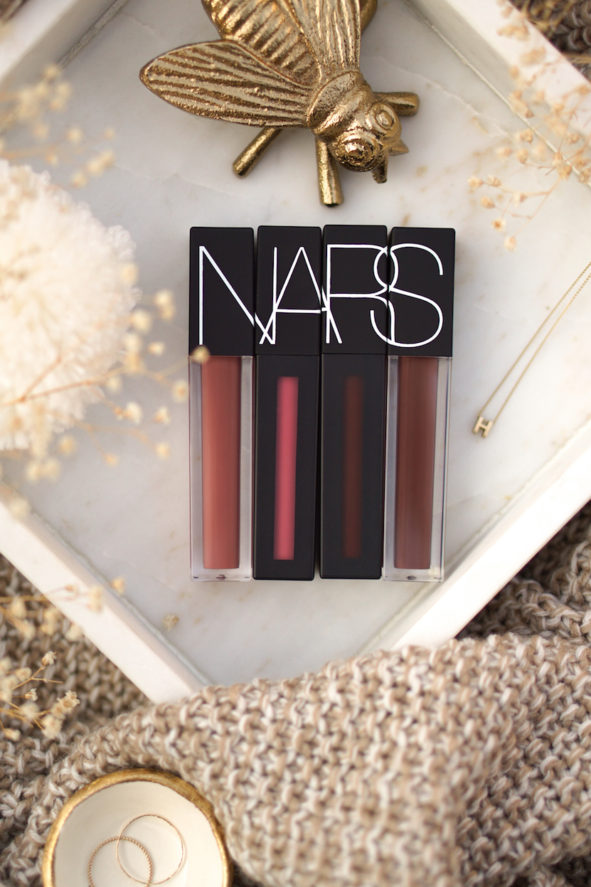 NARS Liquid Lip Collection swatches