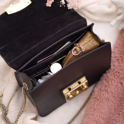 What's in my Furla Metropolis Mini Onyx bag?