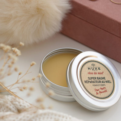 NUXE Rêve de Miel, repairing super balm & lip balm