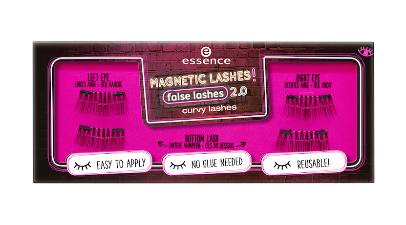 essence trend edition 'magnetic lashes! false lashes 2.0'