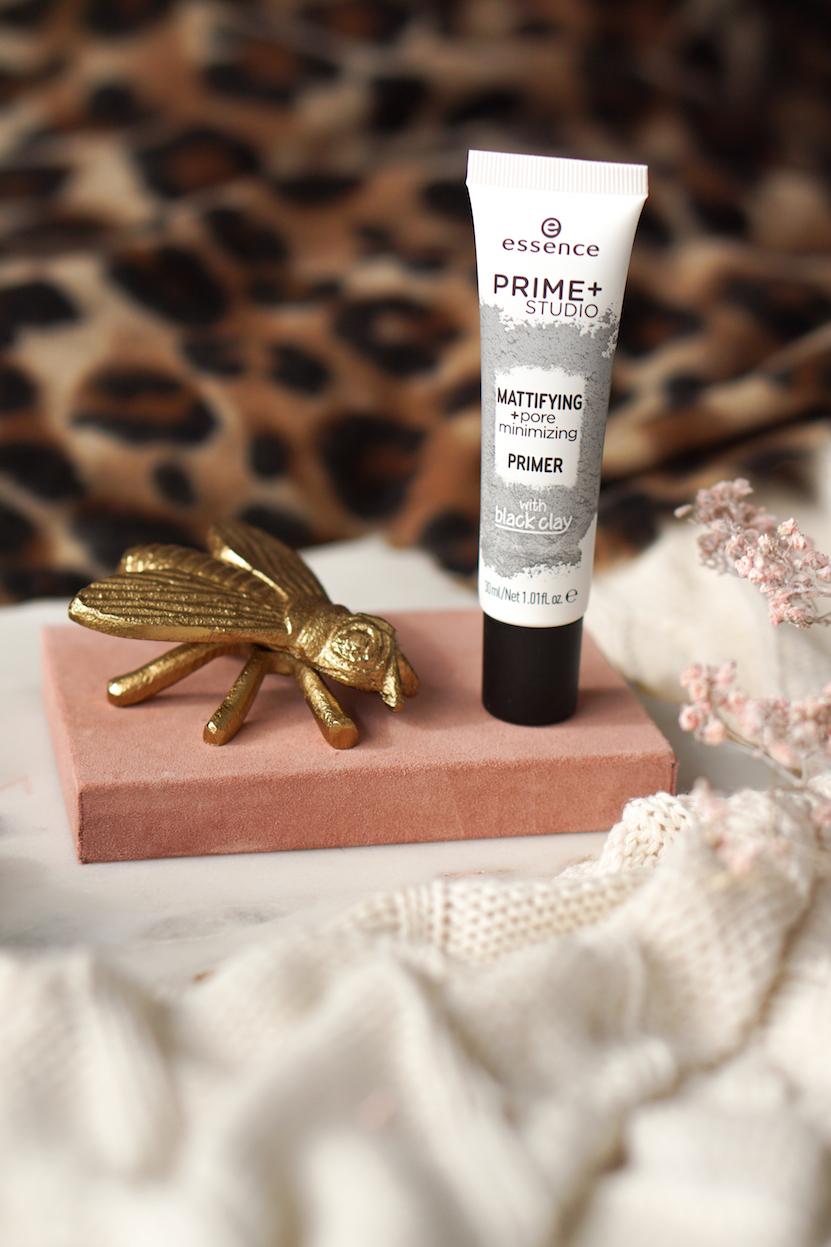 essence prime+ studio mattifying + pore minimizing primer