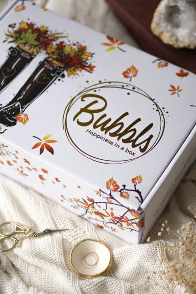 Bubbls happiness in a box, herfst editie unboxing